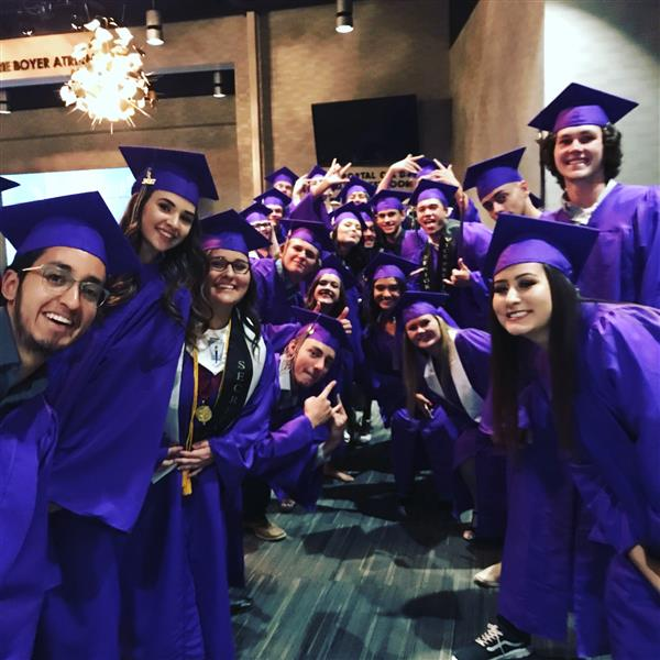WHS graduating students